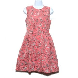Gap sleeveless dress Fit and Flare floral Size 4